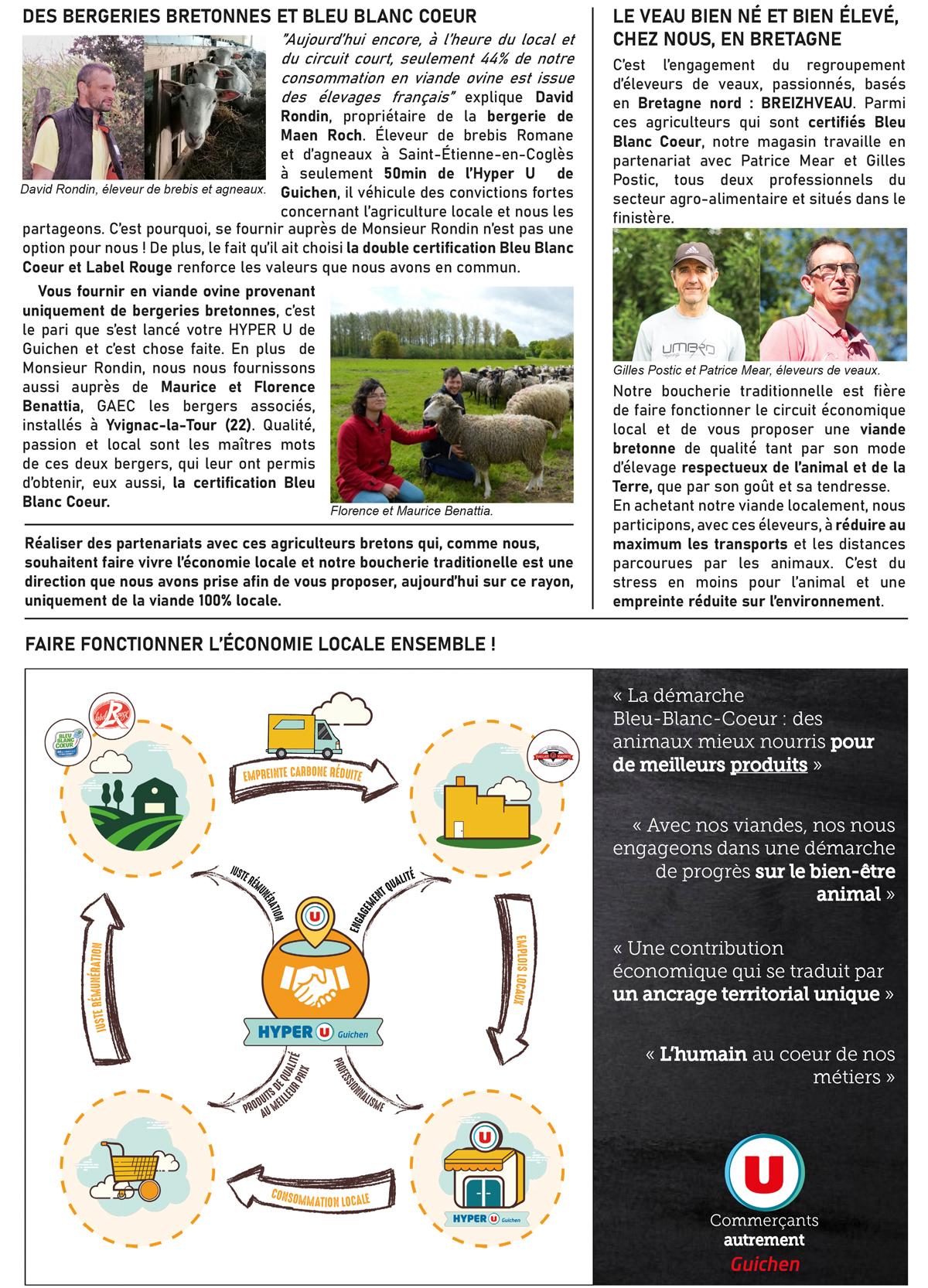 BreizhVeau publication HyperU Guichen - producteurs locaux - janvier 2021 page 2