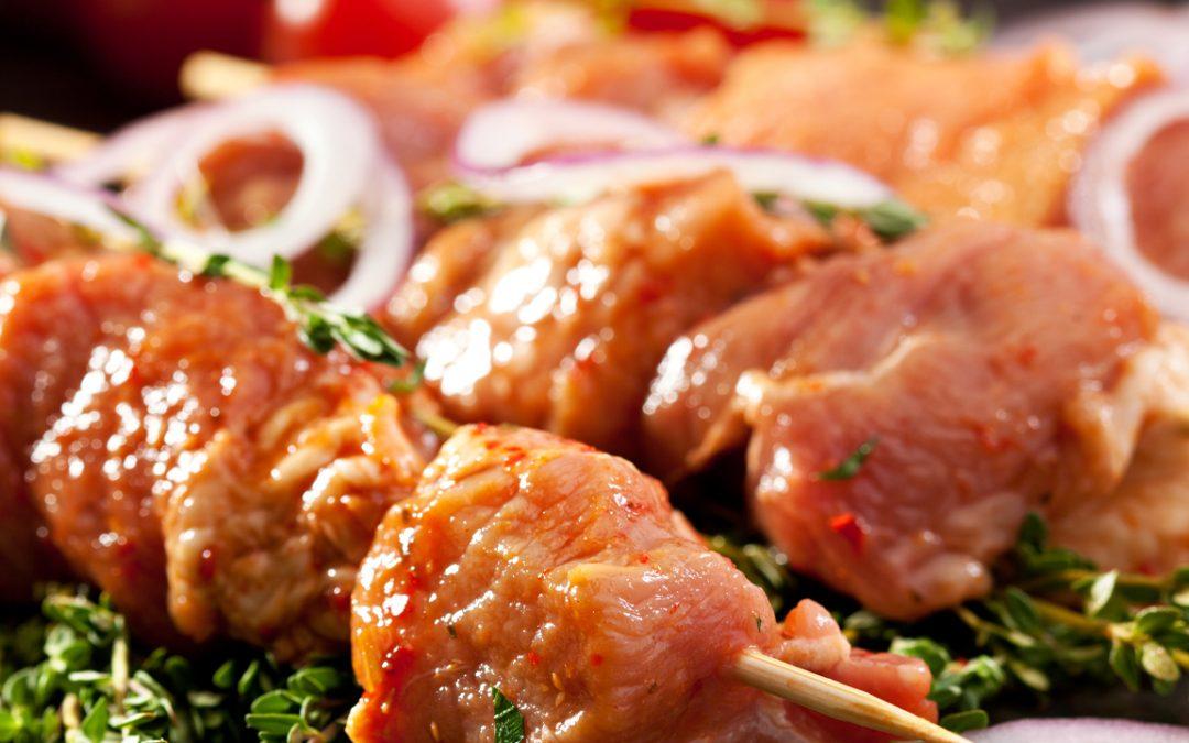 Brochettes de veau aux agrumes – à votre barbecue !